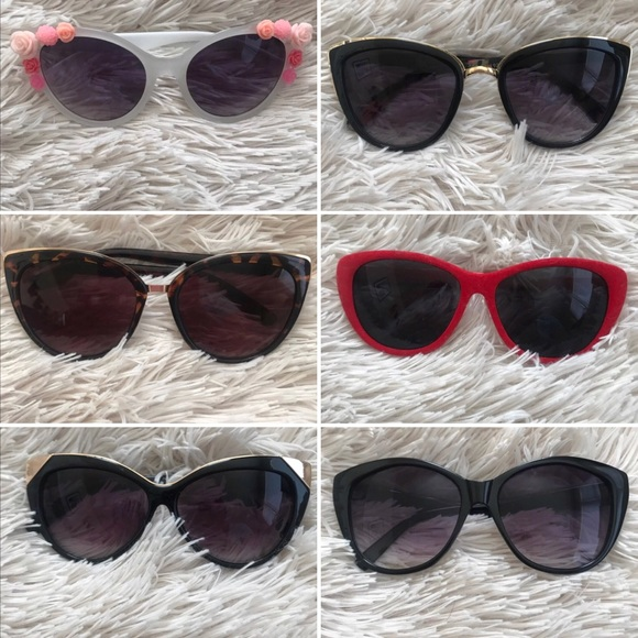 5cbc79065ded8 Free People Accessories - Cat-eye Sunglasses (multiple styles colors)